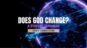 Does God Change?